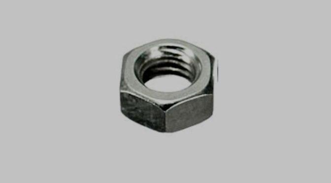 Nakrętki sześciokątne stalowe wg DIN 934 – cynkowane cennik